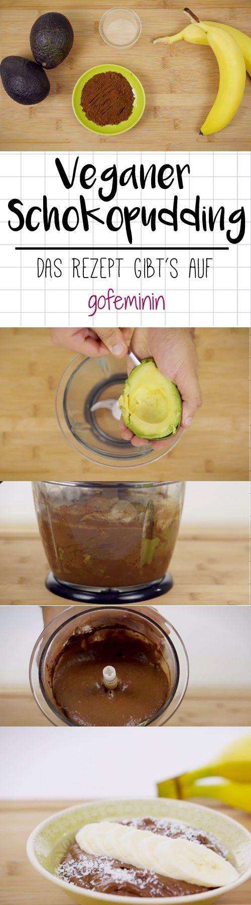 Wow! Schokopudding aus Avocado und Banane: Vegan, gesund und lecker!