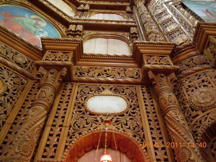 Catapeteasma Biserica Sfantul Dumitru Bacau
