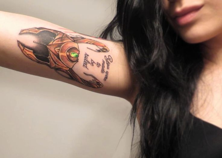 Loki tattoo. But with trust my rage. I seriously am considering this