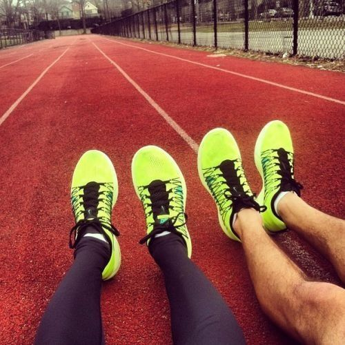 Couples who train together, stay together.