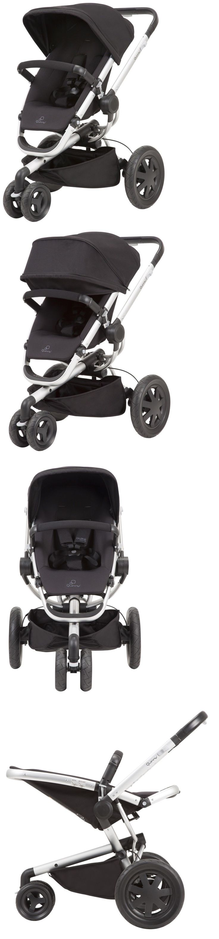 Strollers 66700: Quinny Buzz Xtra 2.0 Auto Unfold Reversible Seat Baby Stroller Rocking Black New -> BUY IT NOW ONLY: $359.99 on eBay!