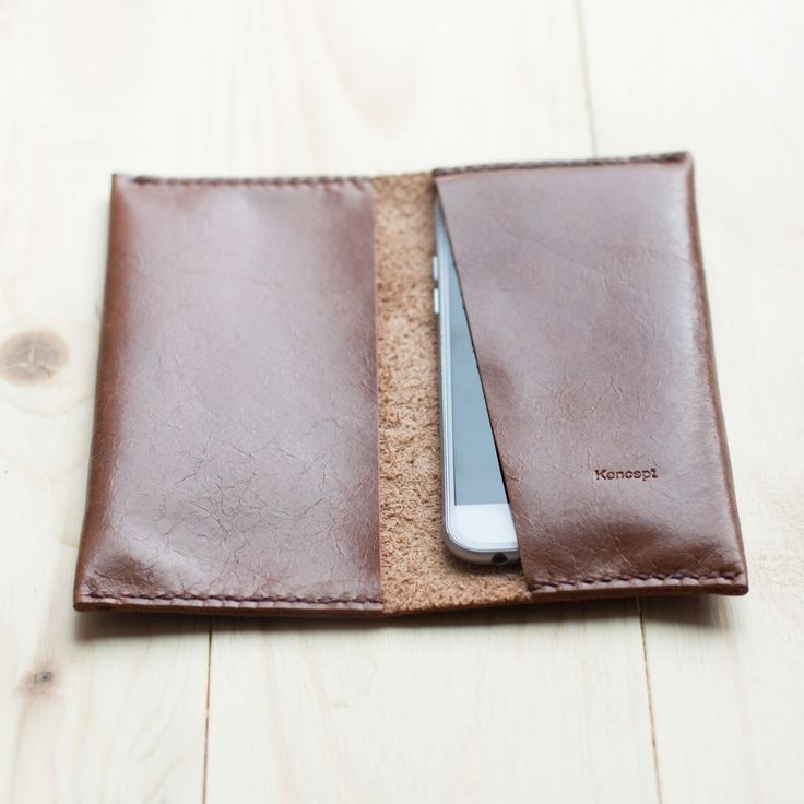 KONCEPT iPhone 6 leather wallet
