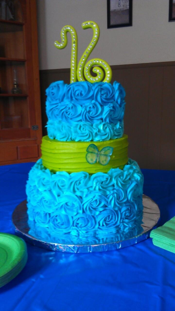 Amazing 16th Birthday Cakes Hanna's 16th birthday ...