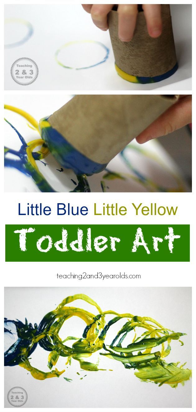 little blue and little yellow paint mixing art activities for toddlerscolor - Color Games For 2 Year Olds