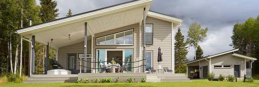 Бревенчатые дома, дома, бревенчатые коттеджи, срубов - PolarHouse