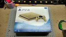Sony PlayStation 4 Slim Limited Edition Gold Console New! PS4 1TB HDD