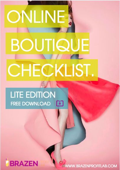 How to start an online boutique: Check out your step-by-step guide and download your FREE online boutique checklist. Updated May 2016.