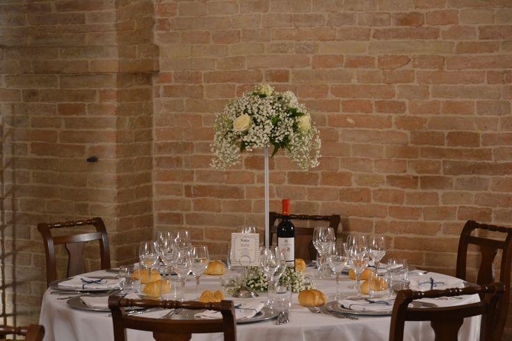 Allestimento banchetto di nozze matrimonio palazzo storico #location d'eccezione centrotavola rose e peonie