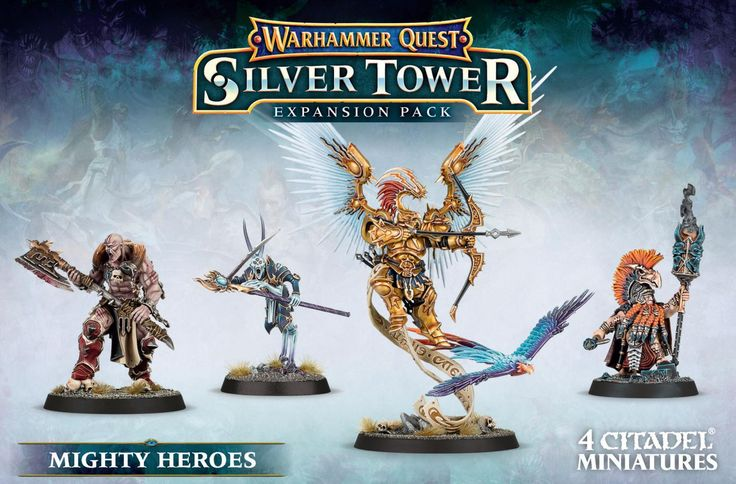 Warhammer Quest Mighty Heroes - Element Games - Warhammer and Warhammer 40k Store
