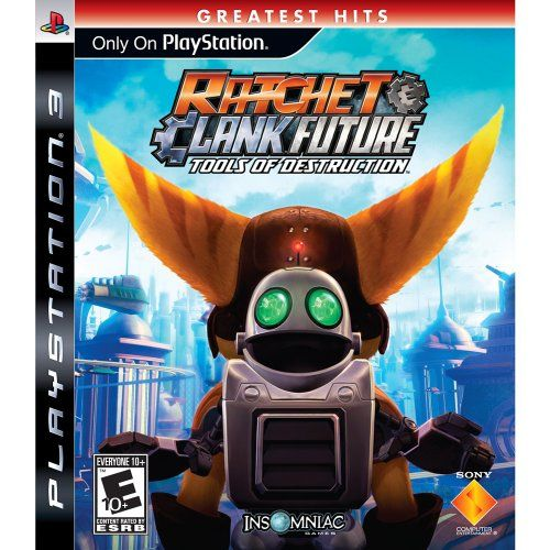 Ratchet and Clank Future: Tools of Destruction - Playstation 3 Sony http://smile.amazon.com/dp/B000UC5ML0/ref=cm_sw_r_pi_dp_lThdwb1KB2YB7