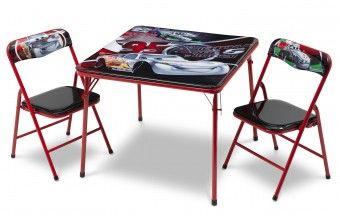 Dětský stůl s židlemi Cars IV