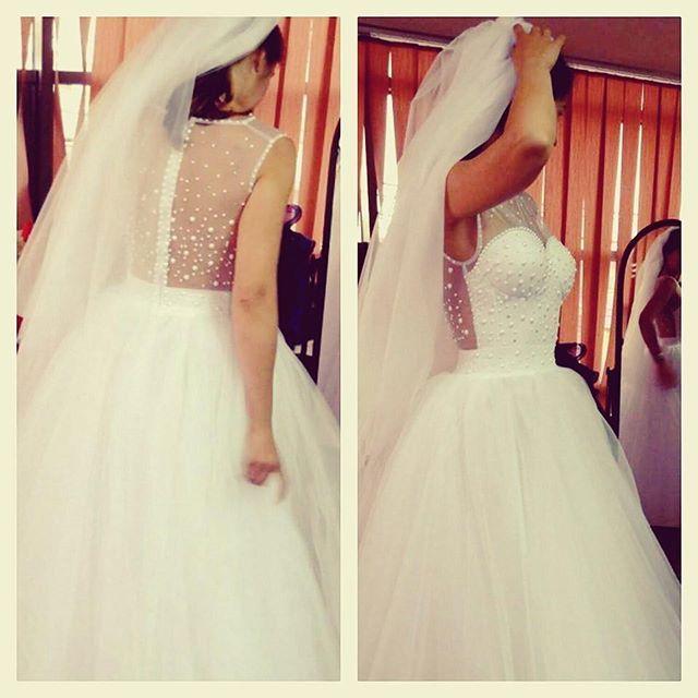 One more #weddingdress is ready and goes to Cyprus!  #weddingseason #bride #bridal #pearl #details #beautiful #glamour #original #unique #handmade #wedding #dress #atelier #romania #romaniandesigner #romanianbrand #StadaBoutique #GeorgianaStavrositu