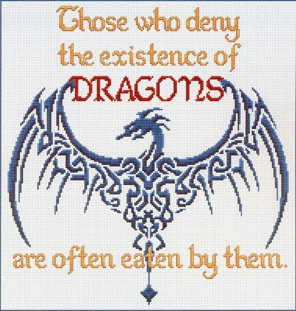 Afbeeldingsresultaat voor those who deny the existence of dragons