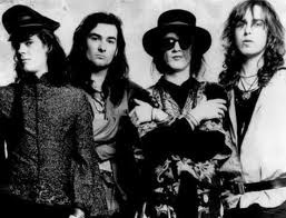 The Mission, spawning from the break-up of Sisters of Mercy, Wayne Hussey formed this band to critical success as a Gothic Rock band in 1986. It broke up two times and is still playing today and looking to reunite the original band members.