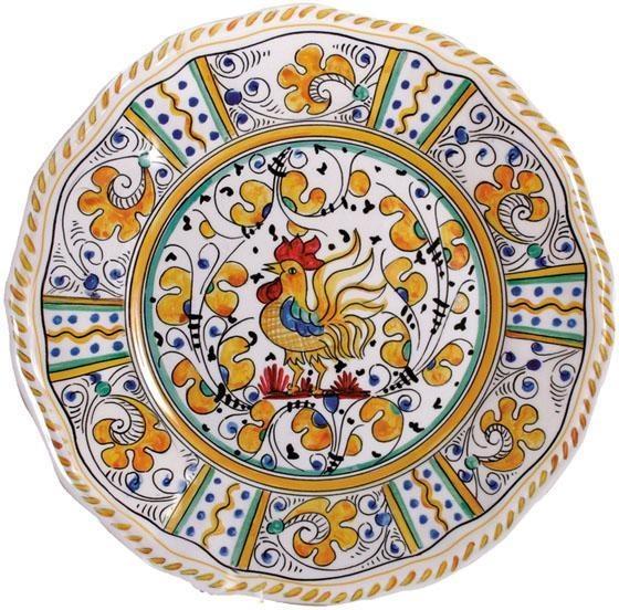 Rooster Dinner Plates   Set Of 4   Dinnerware   Kitchen Decor   Home Decor  