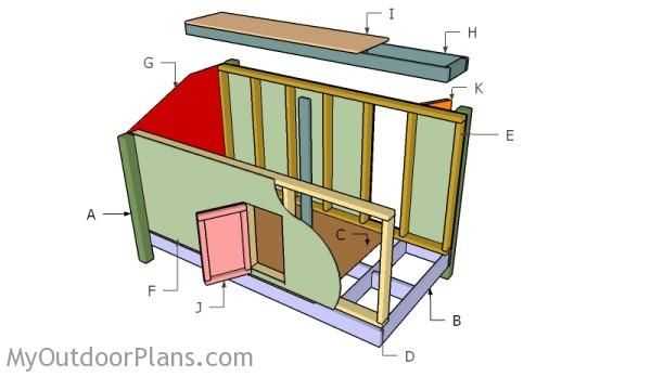 building a duck blind deer blind plans pinterest
