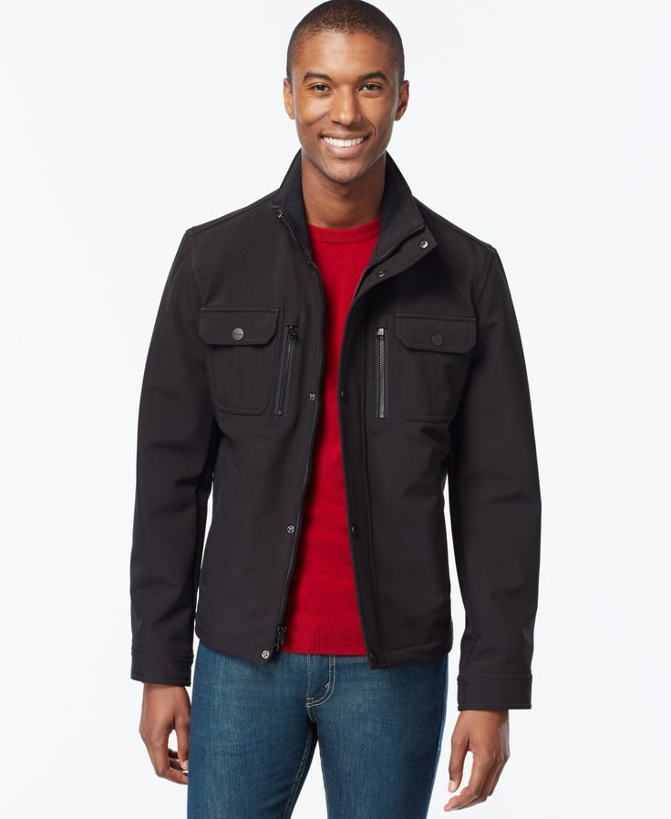 MICHAEL Michael Kors Men's Soft-Shell Hipster Jacket
