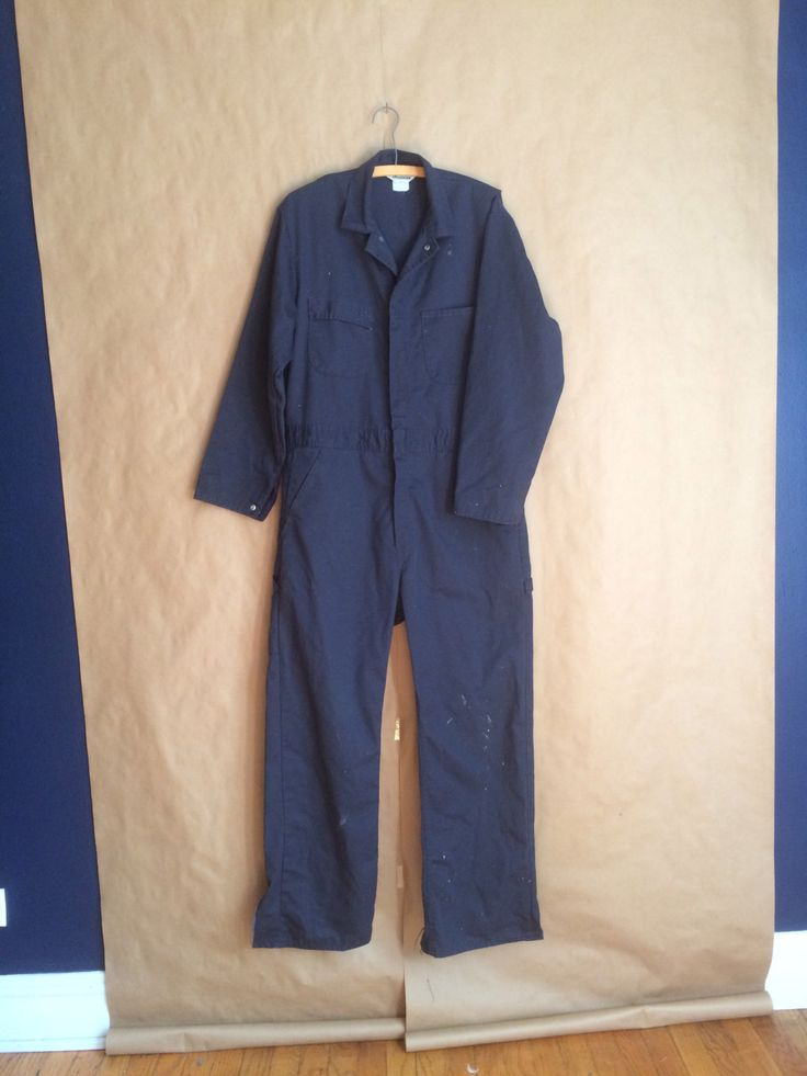 Vintage 70's mechanics coverall uniform janitor outfit