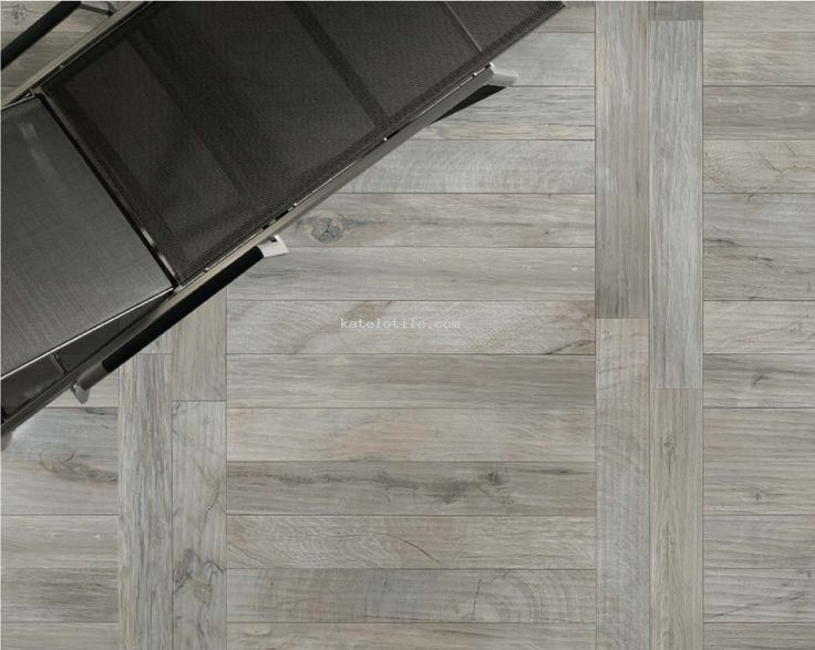 Katelotile.com - Porcelain wood-look tile - Woodker Grey