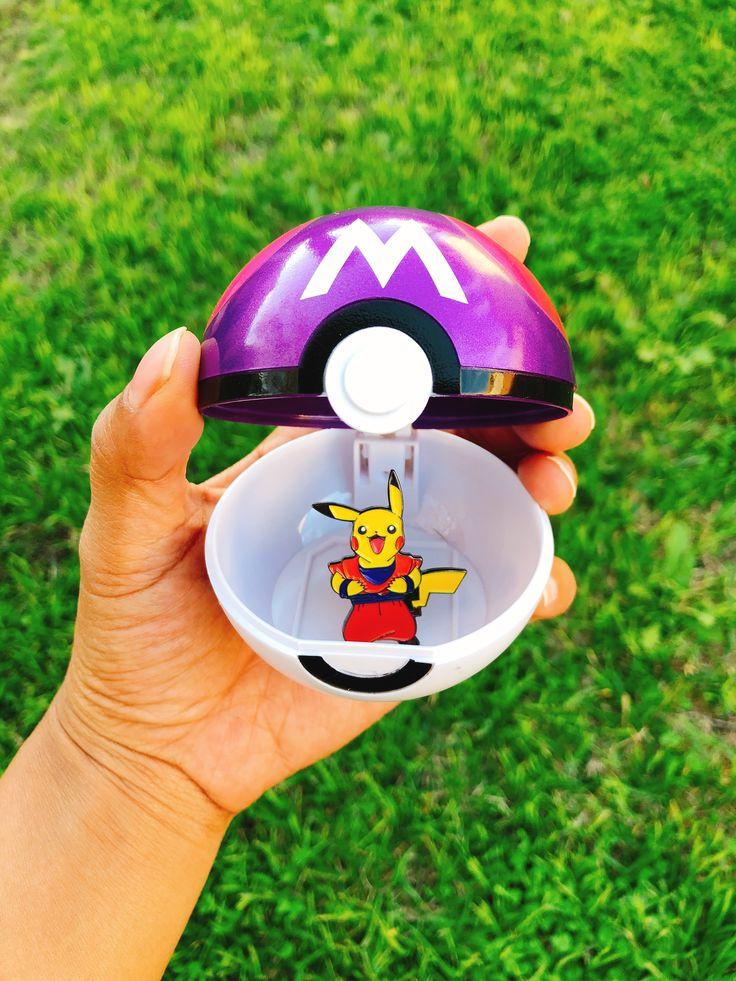 Who do you choose?  Available at the Oozy Ranger shop on etsy! #pokemon #masterball #pokeball #pincollector #pinaddict #nostalgic #pikachu #pikapika #enamelpins #pingame #pingameonpoint