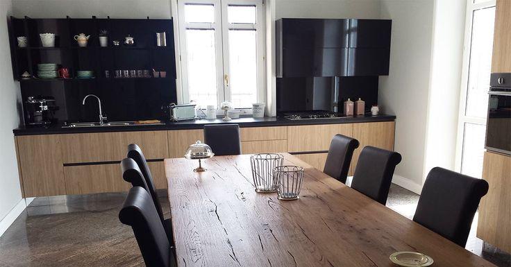 1000 images about le cucine dei nostri clienti on for Felice palma arredamenti