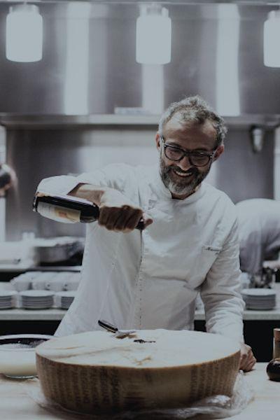Bottura Expo 2015 | Massimo Bottura, Chef Osteria Francescana   Modena  Italy