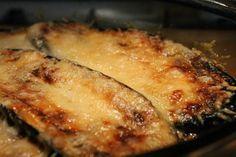 Paleo muszaka recept (rakott padlizsán)