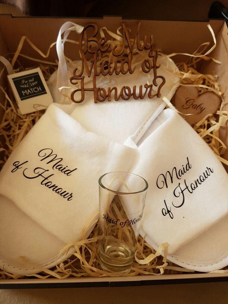 my maid of honour gift box
