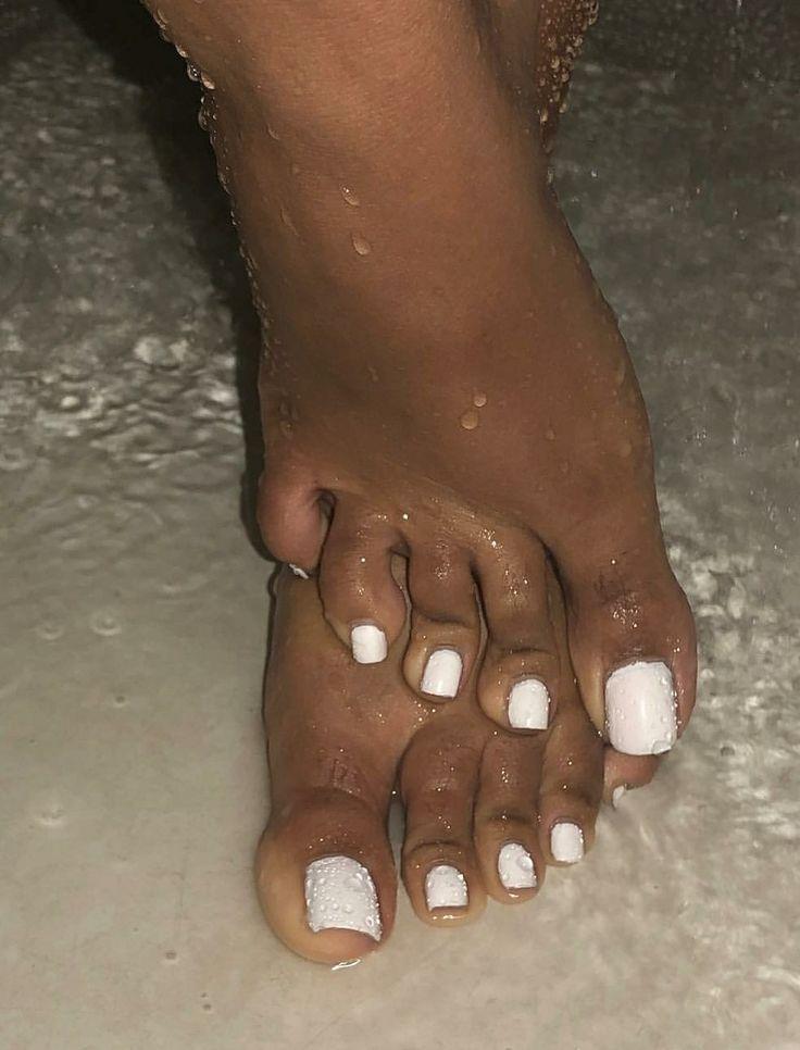 Pretty black feet