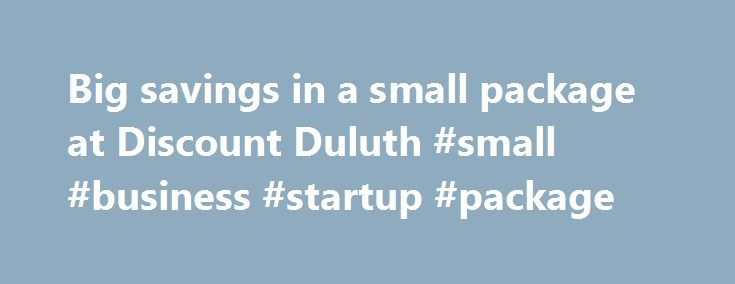 "Big savings in a small package at Discount Duluth #small #business #startup #package http://vermont.remmont.com/big-savings-in-a-small-package-at-discount-duluth-small-business-startup-package/  # Big savings in a small package at Discount Duluth It's a big-box store in a little package. Wait, no — it's a small startup with big deals. How about the actual tagline of the newly opened Discount Duluth at the Spirit Valley Shopping Center: ""Big box store selection. Closeout prices."" The West…"