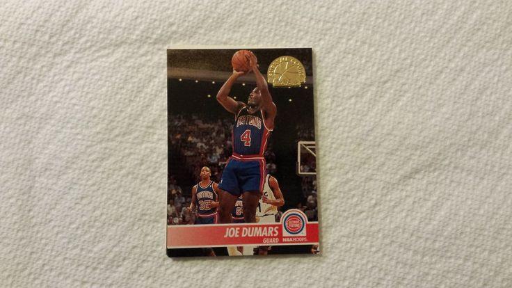 (6) Detroit Pistons Joe Dumars basketball cards