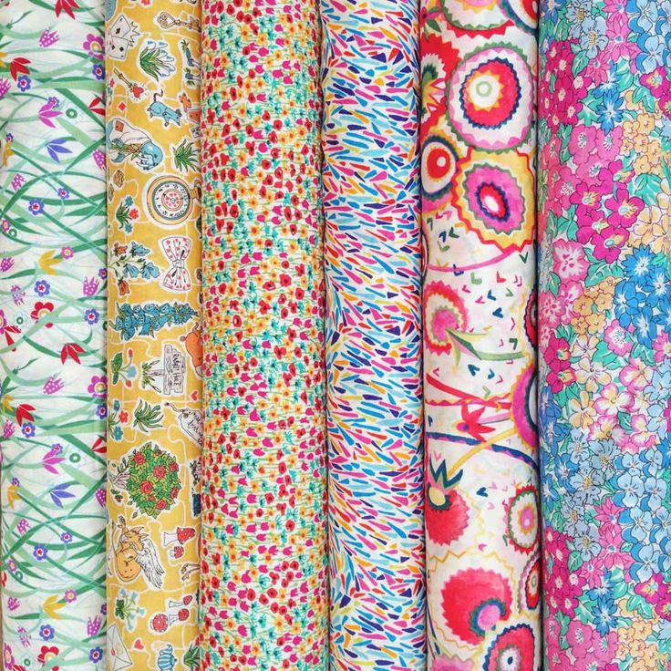 Gorgeous new fat quarter selection from the new Liberty Alice in Wonderland collection.