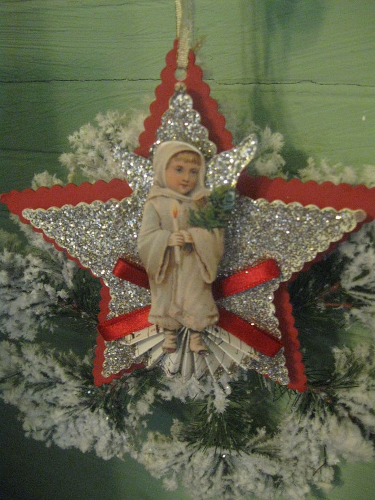 Victorian Christmas. Vintage Christmas OrnamentsVictorian ChristmasPaper ...