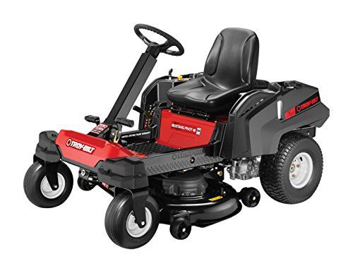 Product review for Troy-Bilt 22HP 725cc Twin Cylinder Transmission 46-Inch Pivot Zero Turn Mower. The Troy-Bilt 22HP 725cc Twin Cylinder Transmission 46-Inch Pivot Zero Turn Mower combines the natural motion and control of a steering wheel with the precision and performance of a zero-turn mower. This premium mower features a sturdy and durable 46-inch cutting deck and reinforced heavy-duty...