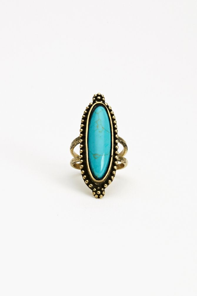 Turquoise Ring- looks so much like the one my mama bought on Mexico over 50 yrs ago!