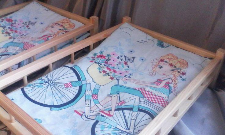 Кроватки для кукол ростом до 60 см
