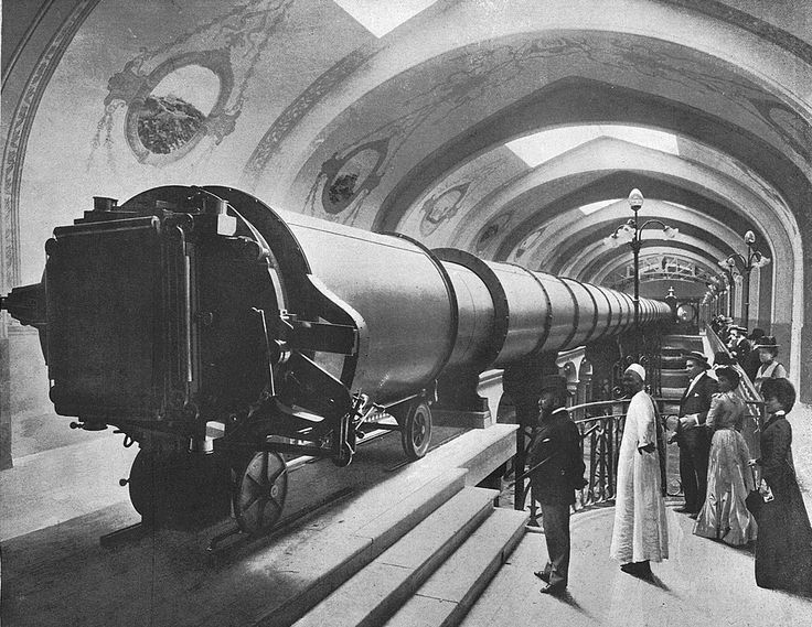 The Great Paris Exhibition Telescope of 1900, was the largest refracting telescope ever constructed