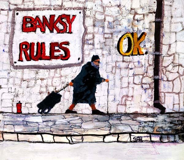 Sue Howells Granny Rules Ok Signed Limited Edition Print | Contemporary Art