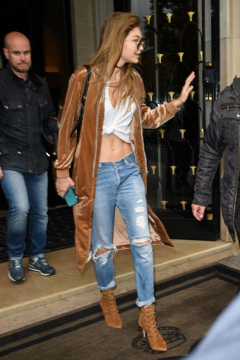 See 153 of Gigi Hadid's most stylish off-duty looks: