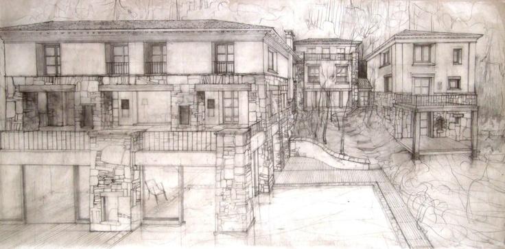 El talento del debujante Gonzalo Fontan para el proyecto del Hotel LUMA, Casa de Montaña