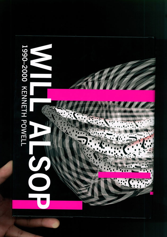 Mark Boyce graphics and print for Will Alsop. I like the way the work is presented as scans