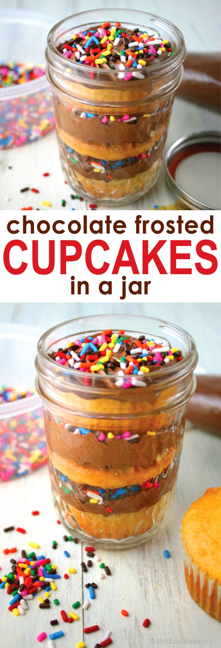 how to make cake in a jar with frosting