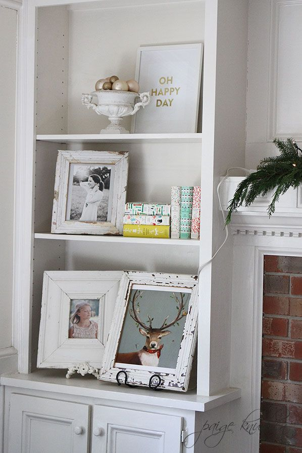 lots of weathered white frames
