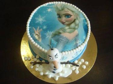 Dort Anna a Elza, Frozen 5 | Klasické dorty | Sladký MÉĎA - cukrárna trošku jinak