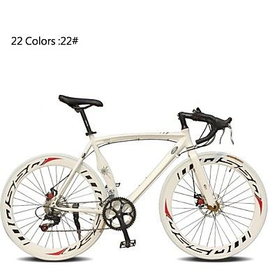 700c bicicleta 14 sebesség 60mm széles perem tl ™ alumínium ötvözetből készült váz dupla tárcsafék kanyarban kormány országúti kerékpár 2552149 2016 – $422.99