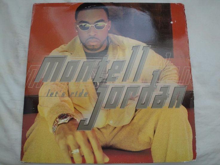 MONTELL JORDAN LET'S RIDE DOUBLE VINYL LP 1998 DEF JAM RECORDINGS EX #GFunkGangstaHardcoreJazzyHipHopOldSchool
