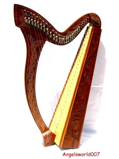 Irlandais harpe celtique 27 cordes harp: Amazon.fr: Instruments de musique