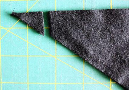 como hacer un babero bandana en tela