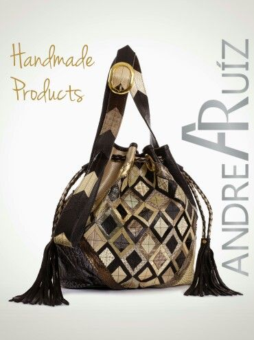 Rubí Leather Bag by Andrea Ruíz