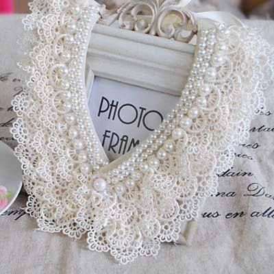 Beautiful lace and pearls- Romancing The Rose Studio